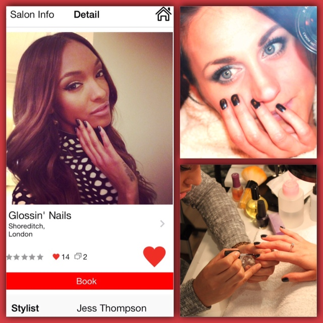 Jourdan Dunn Nails